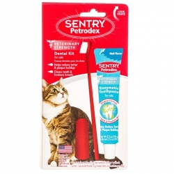 Petrodex Dental Kit for Cats with Enzymatic Toothpaste Image