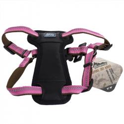 K9 Explorer Reflective Adjustable Padded Dog Harness - Rosebud Image