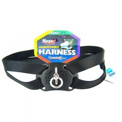 Coastal Pet Size Right Nylon Adjustable Pet Harness - Black Image