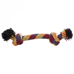 Mammoth Flossy Chews Braidys 2 Knot Rope Bone Image