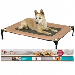 K&H Pet Cot - Chocolate Brown Image