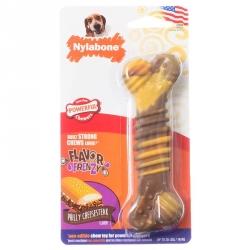 Nylabone Flavor Frenzy Dura Chew Bone - Philly Cheesesteak Flavor Image
