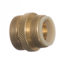 Python No Spill Clean & Fill Male Brass Adapter Image