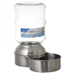 Petmate Replendish Stainless Steel Waterer Image