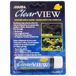 Marina Clear View Aquarium Background Adhesive Solution Image