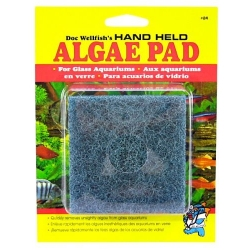 Doc Wellfish's Hand Held Algae Pad for Glass Aquariums Image