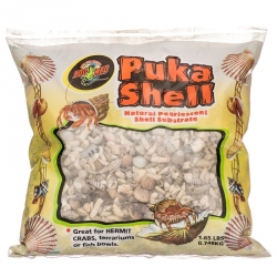 Zoo Med Puka Shell Natural Pearlescent Substrate for Hermit Crabs Image