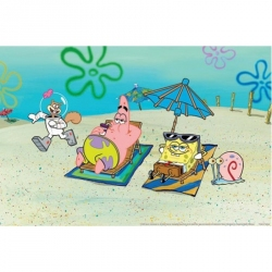 Penn Plax Spongebob Aquarium Background Image