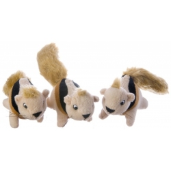 Plush Puppies Squeakin Animals - Squirrel Image