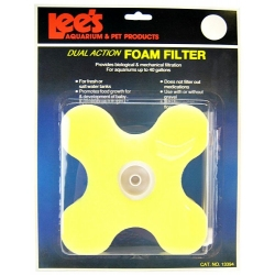 Lee's Clover Dual Action Foam Filter - (Up to 40 Gallons) Image
