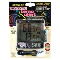 Lifegard Aquatics Big Digital Temp Alert Image