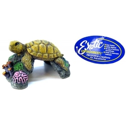 Blue Ribbon Sea Turtle Ornament Image