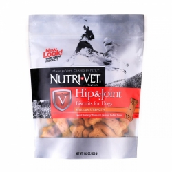 Nutri-Vet Hip & Joint Biscuits for Dogs - Regular Strength Image