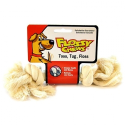 Mammoth Flossy Chews White Rope Bone Image