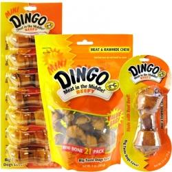 Dingo Beefy Meat & Rawhide Chew Bones Image