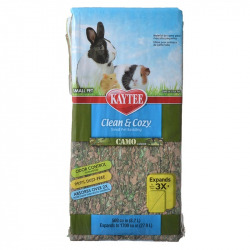 Kaytee Clean and Cozy Small Pet Bedding - Camo Image