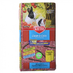 Kaytee Clean and Cozy Forage Fun Small Pet Bedding - Apple Orchard Image