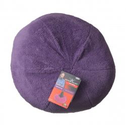 Petmate Jackson Galaxy Comfy Dumpling Self-Warming Cat Bed - Purple Image