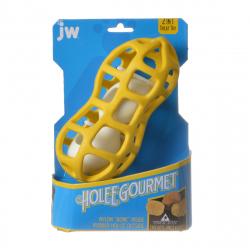 JW Pet Holee Gourmet Peanut Dog Toy Image