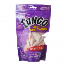 Dingo Chip Twists Meat & Rawhide Chew Image