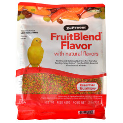 ZuPreem FruitBlend Flavor Bird Food for Very Small Birds Image