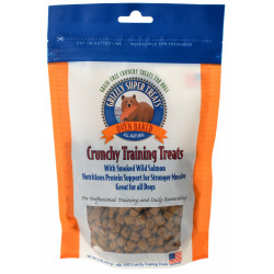 Grizzly Super Treats Oven-Baked Crunchy Training Treats with Smoked Salmon Image