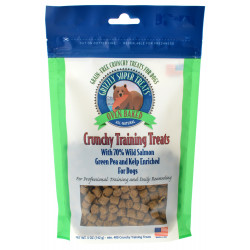 Grizzly Super Treats Green Pea and Kelp Crunchy Training Treats with Salmon Image