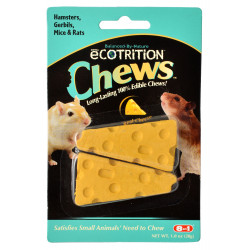Ecotrition Chews for Small Pets - Real Cheese Flavor Image