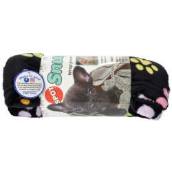 Spot Snuggler Pet Blanket - Rainbow Pawprints Image