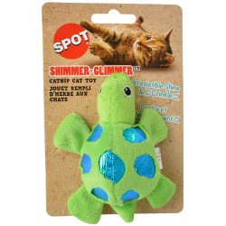 Spot Shimmer Glimmer Turtle Catnip Toy Image