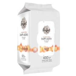Perfect Coat Moisturizing Bath Wipes - Fresh Scent Image