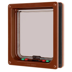 Cat Mate Large Cat Flap - Brown Image