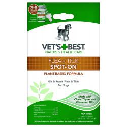 Vet's Best Flea & Tick Spot-On for Dogs Image