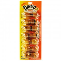 Dingo Beefy Meat and Rawhide Dog Chew Bones Mini Image