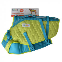 Outward Hound Standley Sport Life Jacket for Dogs - Green/Blue Image