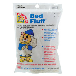 Penn Plax S.A.M. Bed Fluff for Hamsters Image
