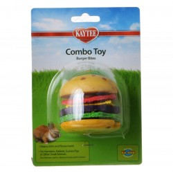 Kaytee Combo Toy Burger Bites Image