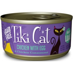 Tiki Cat Chicken With Egg Cat Food Image