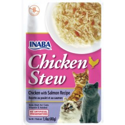 Inaba Chicken Stew Chicken with Salmon Recipe Side Dish for Cats Image