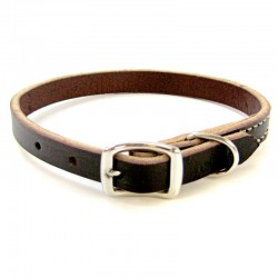 Circle T Latigo Leather Town Collars Image