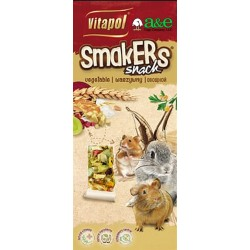 A&E Cage Company Smakers Vegetable Sticks for Small Animals Image