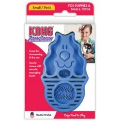 Kong Zoom Groom Brush for Dogs - Boysenberry Image