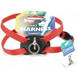 Coastal Pet Size Right Nylon Adjustable Pet Harness - Red Image
