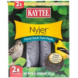Kaytee Nyjer Seed Finch Sock Twin Pack Image