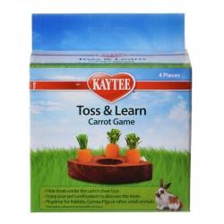 Kaytee Toss & Learn Carrot Game Image