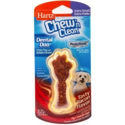 Hartz Chew N Clean Dental Duo - Bacon Image