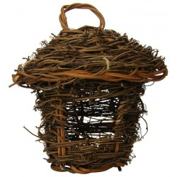 Prevue All Natural Fiber Indoor/Outdoor Thatched Roof Nest Image