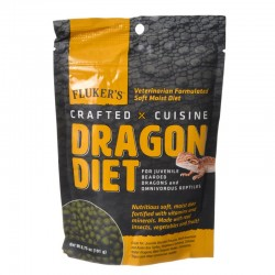 Flukers Crafted Cuisine Dragon Diet - Juveniles Image