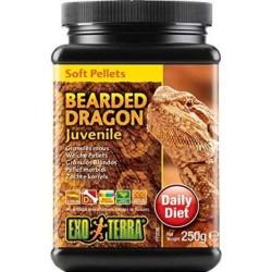 Exo Terra Soft Pellets Juvenile Bearded Dragon Food Image