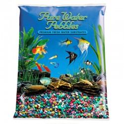 Pure Water Pebbles Aquarium Gravel - Rainbow Image